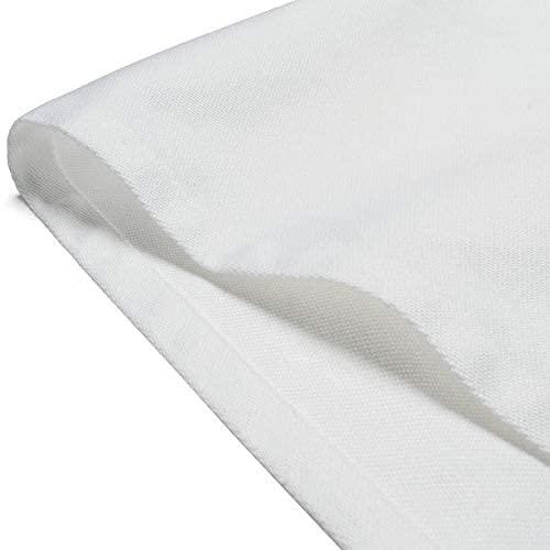Linge de table 4 serviettes blanc